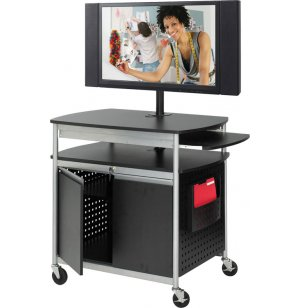 Scoot Flat-Panel Multimedia Cart