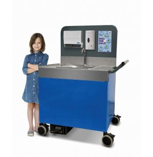 "Portable Sink PreK-5 Counter Height 28""H- Premium"