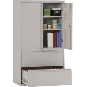 Lateral File Storage Cabinet
