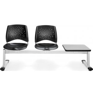 Stars Beam Seating in Plastic - 2 Seats, 1 Table