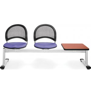 Moon Beam Seating in Fabric - 2 Seats, 1 Table