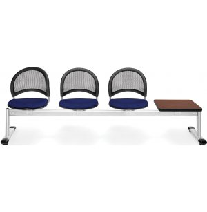 Moon Beam Seating in Fabric - 3 Seats, 1 Table