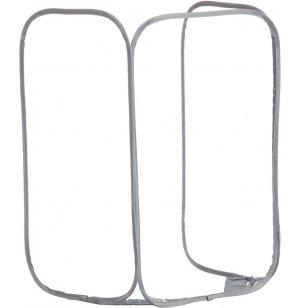 Economy Tri-Fold Portable Sneeze Guard, Antimicrobial