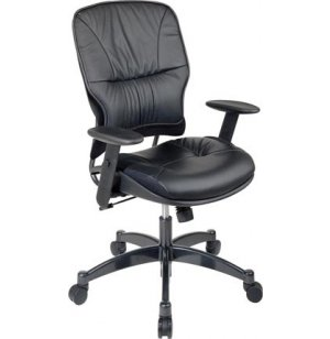 Space Seating Leather Task Office Chair