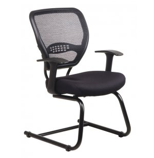 Mesh Fabric Air Grid Guest Chair