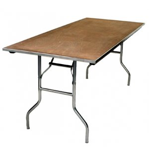 Plywood Rectangular Folding Table