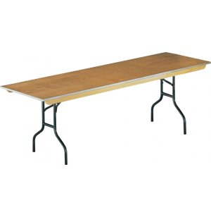 Plywood Rectangular Banquet Table
