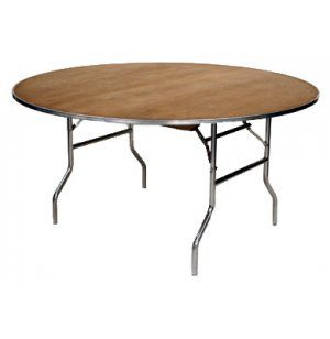 M-Series Plywood Round Folding Table