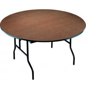 Particleboard Core Round Folding Table