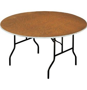 Plywood Round Banquet Table