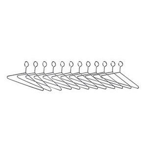 Closed Loop Hangers - Set of 12