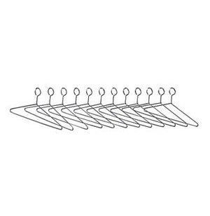 Closed Loop Hangers - Set of 12