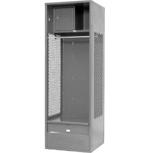 Stadium Steel Locker w/Ft Locker & Secure Box