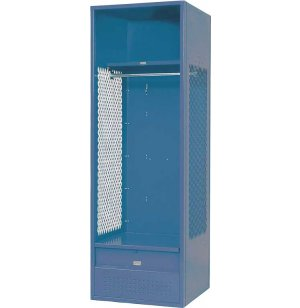 Stadium Steel Sports Locker with Foot Locker