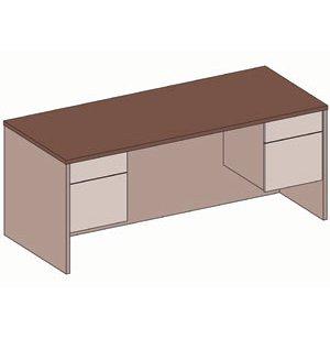 Double Pedestal School Office Desk
