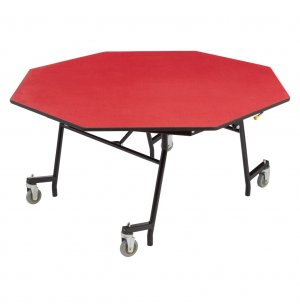 Easy Fold Cafeteria Table - Octagon
