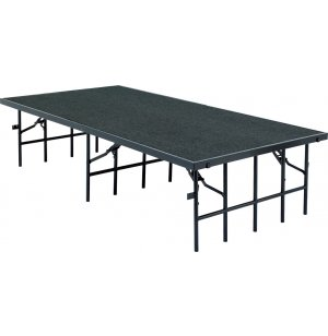 48 Inch Deep Portable Stage, Carpeted