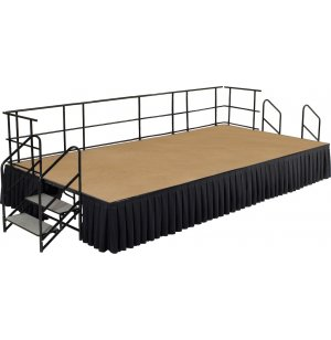 Fully Equipped Hardboard Portable Stage Set