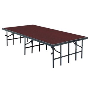 36 Inch Deep Portable Stage, Carpeted