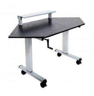 Luxor Crank Corner Standing Desk