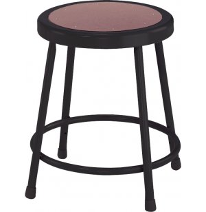 NPS Metal Lab Stool - Black Frame