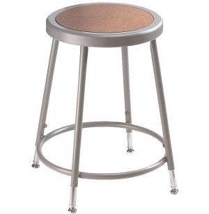 Adjustable Metal Lab Stool