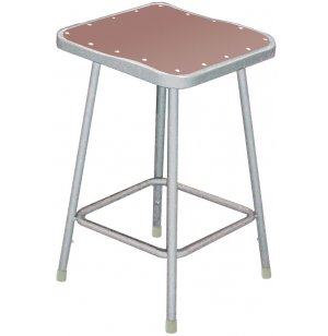 NPS Square Metal Lab Stool