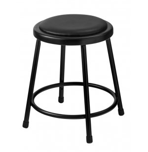 Padded Metal Lab Stool