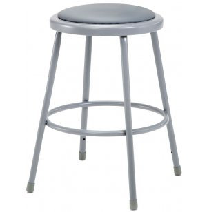NPS Padded Metal Lab Stool