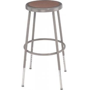 NPS Adjustable Metal Lab Stool