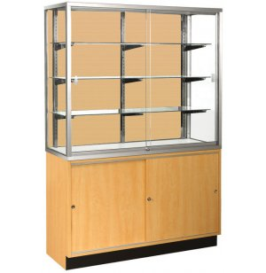 Panel-Back Wall Display Case