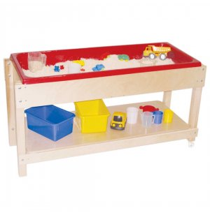 Large Wooden Sand and Water Table with Lid/Shelf