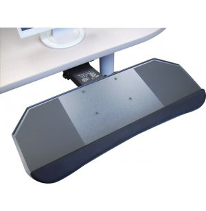 Systematix One-Piece Keyboard & Mouse Tray