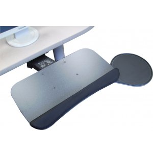 Ergonomic Keyboard Tray w/ Swivel Mouse Platform