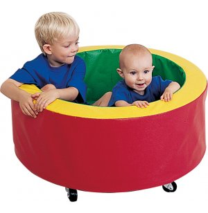 Soft Play Double Tubmobile on Wheels