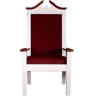 Center Pulpit Chair, Colonial