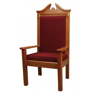 Side Pulpit Chair, Stained