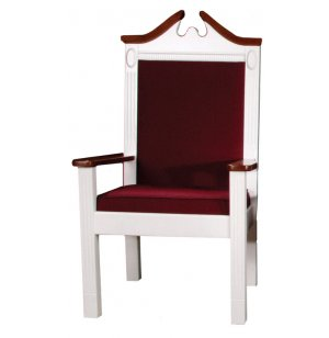 Side Pulpit Chair, Colonial