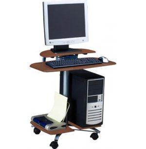 Mobile Flat Panel PC Station
