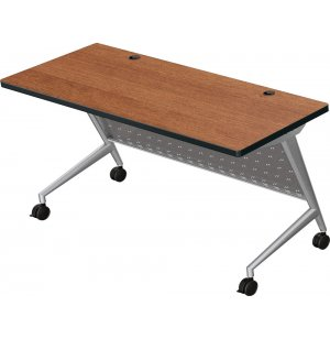 Trend Fliptop Training Table, Silver Frame