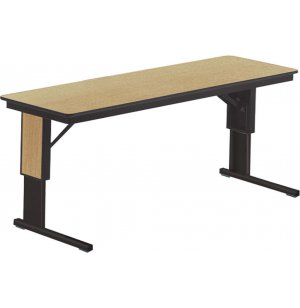 TL Table - Adjustable Height w/Cantilevered Legs