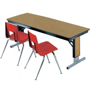TL Series Table - Adjustable Height w/T-Legs