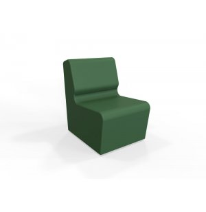 DuraFlex Smoothie Soft Seating Lounge Chair, Casters