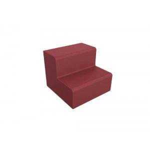DuraFlex 2-Step Soft Seating, Casters