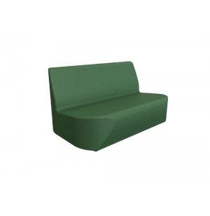 DuraFlex Oasis Soft Seating Sofa, Casters