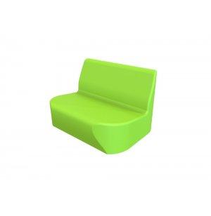 DuraFlex Oasis Mini Soft Seating Sofa, Casters