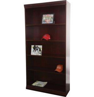 Wood Veneer Bookcase Standard Shelves