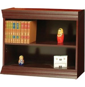 Wood Veneer Bookcase Steel Reinf Shelves