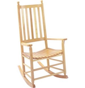 Jumbo Rocker Unfinished