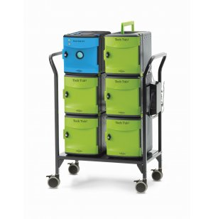 Tech Tub2 Modular Charging Cart with UV Tub –  26 devices